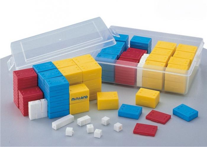 Set 76 greutati din plastic - Miniland [1]