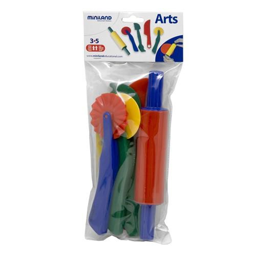 Set de accesorii pentru modelaj cu plastelina Miniland [1]