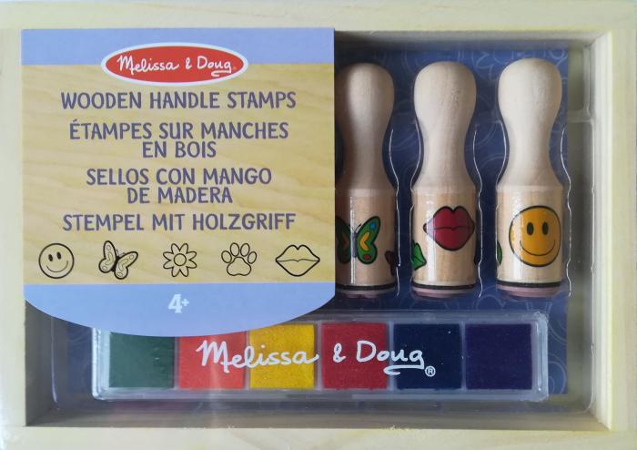 Set de stampile Happy Handle Melissa and Doug [0]