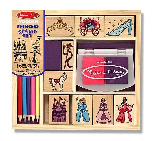 Set de stampile Printese Melissa and Doug [0]