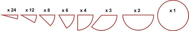 Set didactic pentru invatarea fractiilor Miniland [2]
