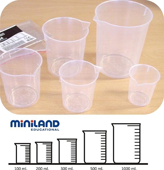 Set didactic pentru masurare lichide Miniland [0]