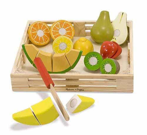 Set fructe lemn pentru taiat - Melissa & Doug [1]