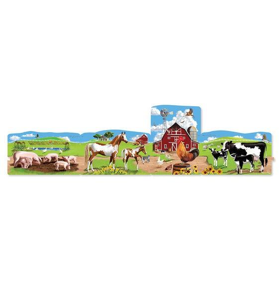 Set puzzle podea conectabile Ferma Melissa and Doug [2]