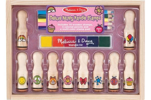 Set stampile Happy Handle Deluxe Melissa and Doug [0]