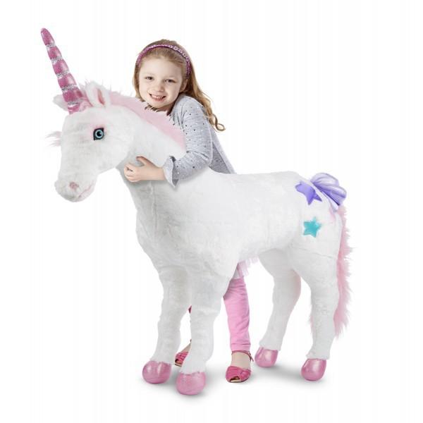 Unicorn gigant din plus Melissa and Doug [0]