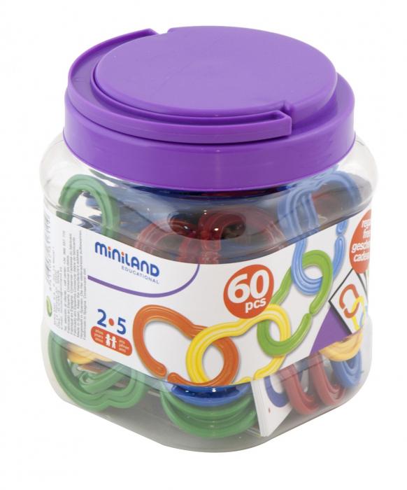 Zale din plastic pentru activitati de indemanare Miniland [3]