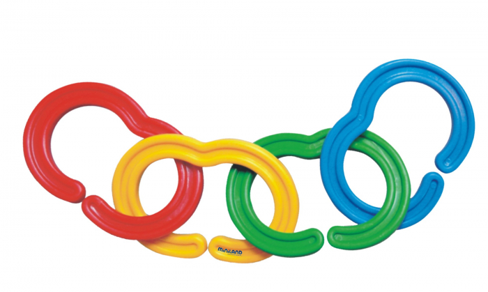 Zale din plastic pentru activitati de indemanare Miniland [2]
