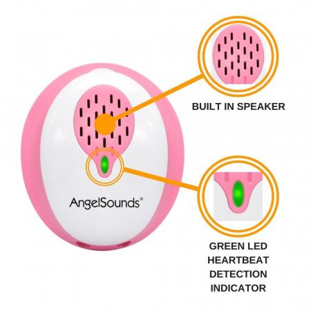 Aparat de ascultat sunete fetale cu aplicatie smartphone Angelsounds JPD-200S [3]