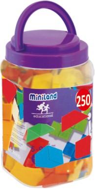 Forme geometrice diverse Miniland 250 buc [1]