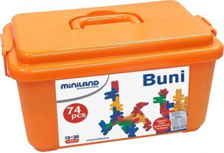 Iepurasi de construit Kim Buni Miniland 74 buc [3]