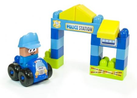 Joc constructii tematic Statie politie - Miniland [1]