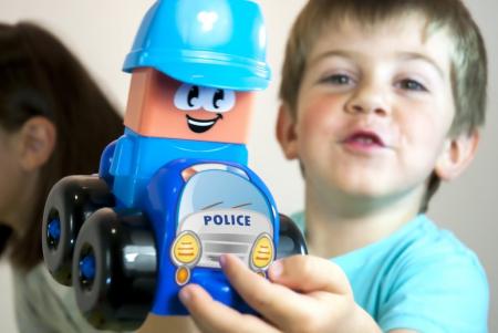 Joc constructii tematic Statie politie - Miniland [2]