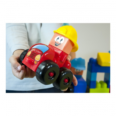 Joc constructii tematic Statie pompieri - Miniland [3]