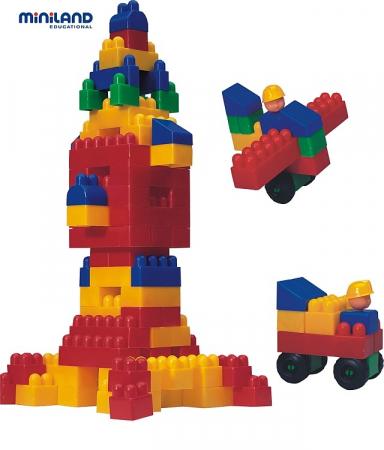 Joc de constructii Caramizi Miniland 300 buc [3]