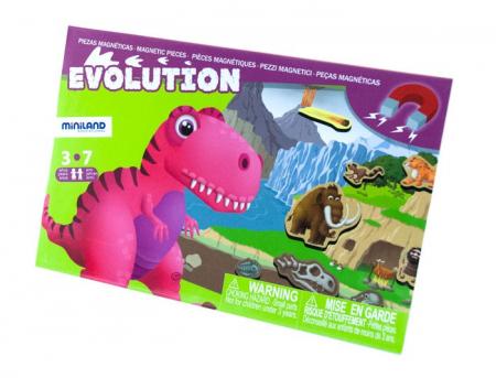 Joc magnetic Descopera Evolutia speciilor - Miniland [0]