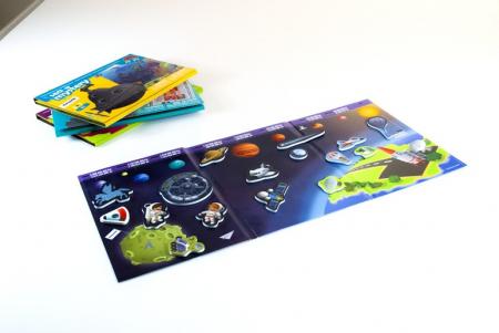 Joc magnetic Descopera spatiul - Miniland [1]