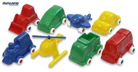 Jucarii Minimobil Miniland 32 vehicule [2]