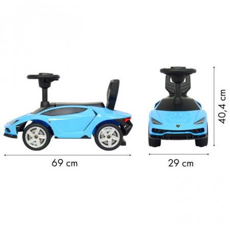 Masinuta de impins Lamborghini 3726A - Albastru [8]