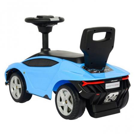 Masinuta de impins Lamborghini 3726A - Albastru [1]