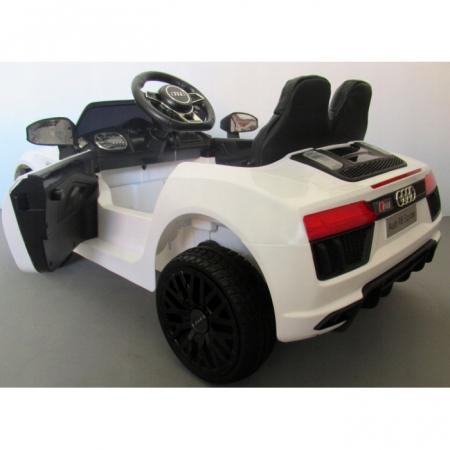 Masinuta electrica cu telecomanda Audi R8 R-Sport - Alb [2]