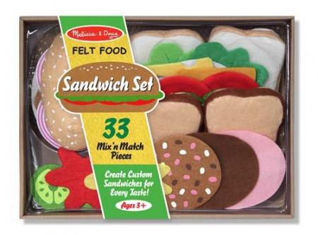 Set de joaca Sandwich - Melissa & Doug [0]
