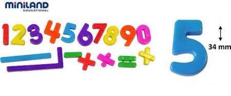 Numere magnetice Miniland 162 buc [0]