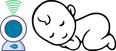 Interfon bebelusi cu proiector de noapte [7]