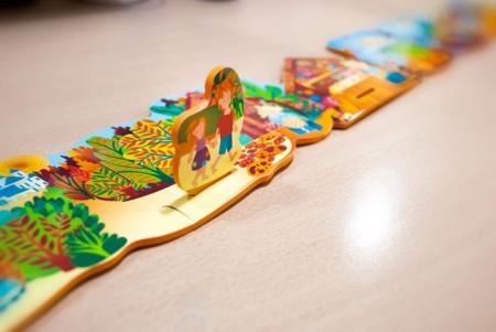 Poveste puzzle Hansel si Gretel - Miniland [4]
