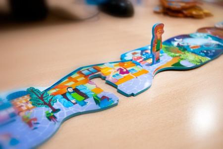 Poveste puzzle Pinocchio - Miniland [3]
