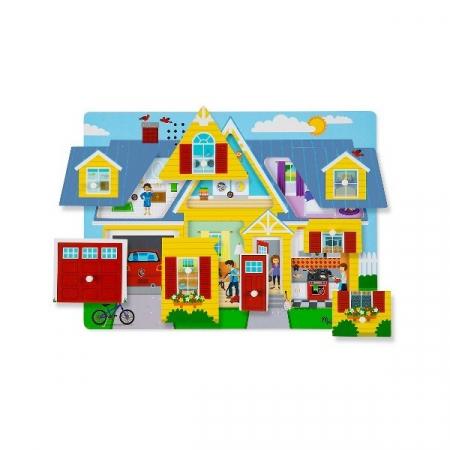 Puzzle cu sunete Casa mea  Melissa and Doug [1]