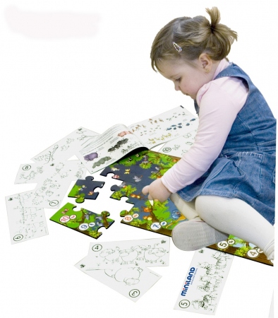 Puzzle de podea educativ cu numere Miniland 40 piese - Miniland [3]