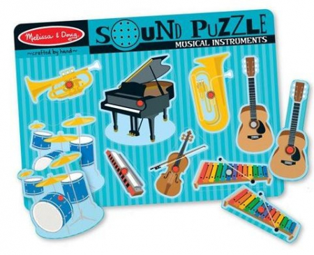 Puzzle sonor Instrumente muzicale Melissa and Doug [1]