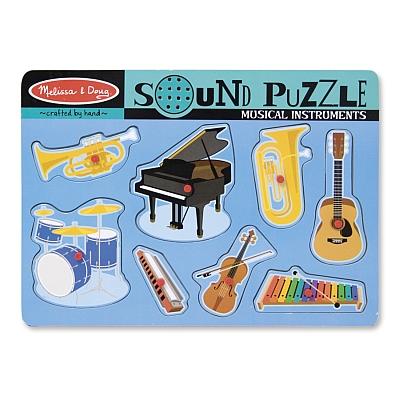 Puzzle sonor Instrumente muzicale Melissa and Doug [0]