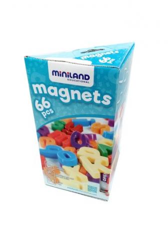 Set 66 litere mici magnetice - Miniland [4]