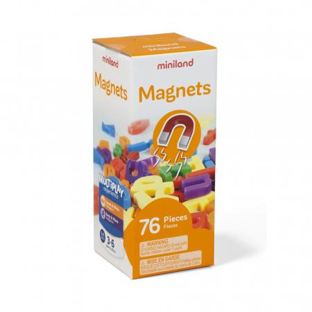 Set 66 litere mici magnetice - Miniland [0]