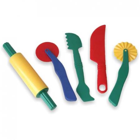 Set de accesorii pentru modelaj cu plastelina Miniland [0]