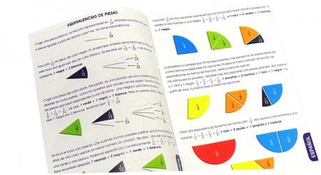Set didactic pentru invatarea fractiilor Miniland [1]