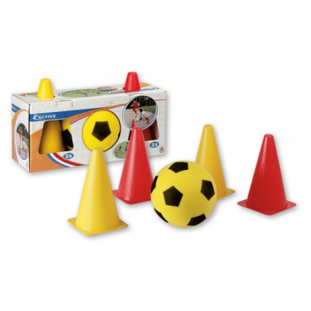 Set fotbal cu jaloane Androni Giocattoli [0]