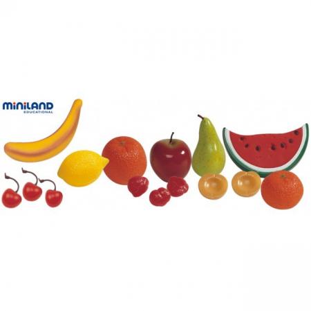 Set fructe din plastic Miniland 15 buc [1]