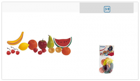 Set fructe din plastic Miniland 15 buc [2]