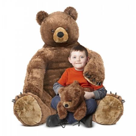 Urs brun cu pui din plus Melissa and Doug [1]