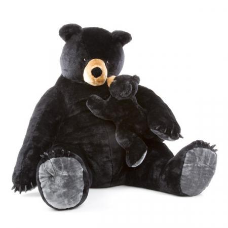 Urs negru gigant din plus - Melissa and Doug [0]