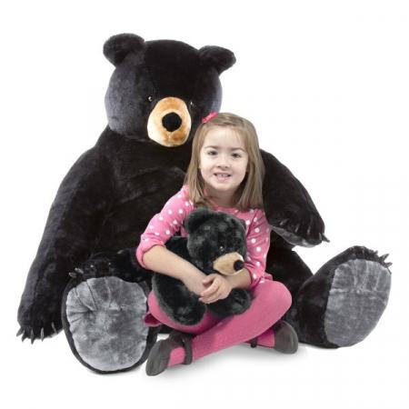 Urs negru gigant din plus - Melissa and Doug [1]