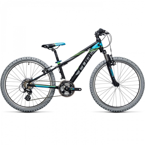 BICICLETA COPII CUBE KID 240 Black Blue 2017