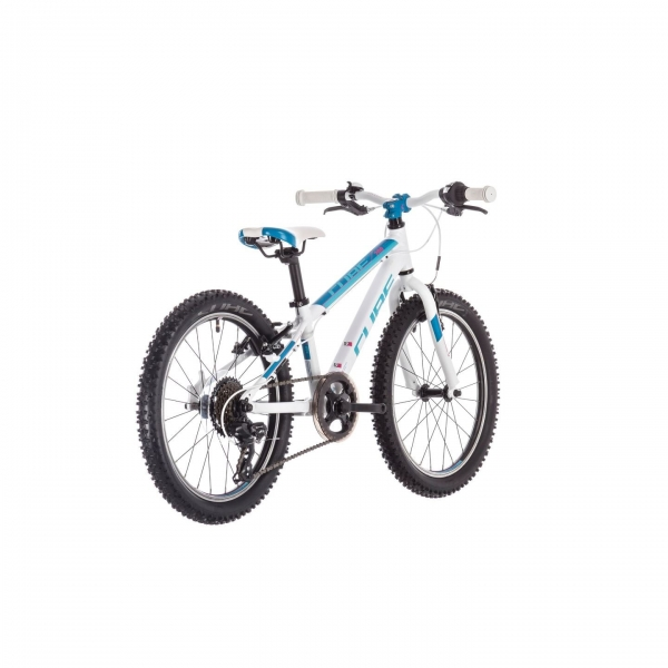 BICICLETA CUBE ACCESS 200 White Blue Pink 2019 1