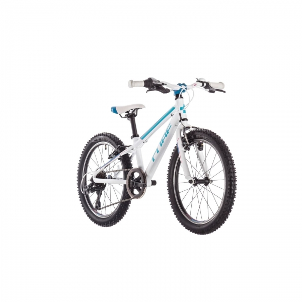 BICICLETA CUBE ACCESS 200 White Blue Pink 2019 2