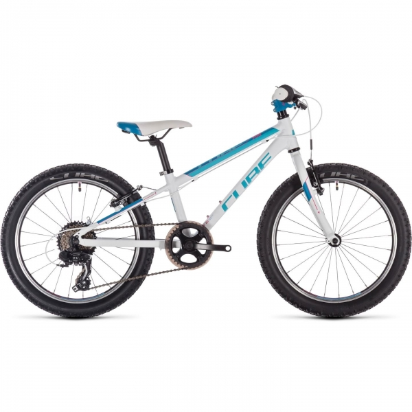 BICICLETA CUBE ACCESS 200 White Blue Pink 2019 0