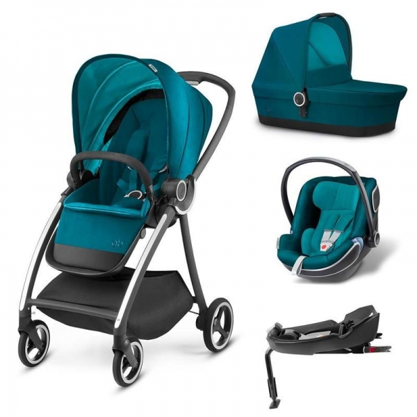 Carucior modular gb Maris 4 in 1 Capri Blue 0