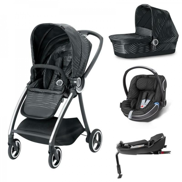 Carucior modular gb Maris 4 in 1 Lux Black 0